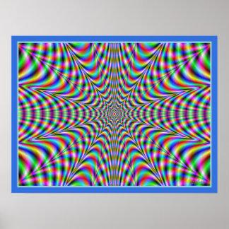 Migración de colores póster