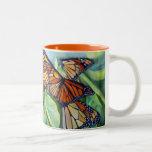 Migración de la taza de la mañana del monarca
