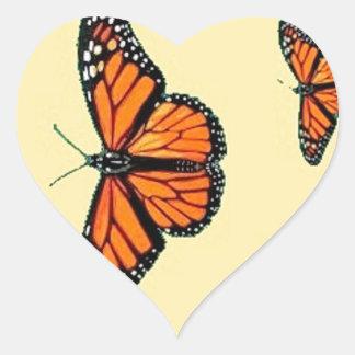 Migración de las mariposas de monarca por Sharles Pegatina De Corazon