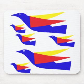 Migración de pájaros tapetes de ratón