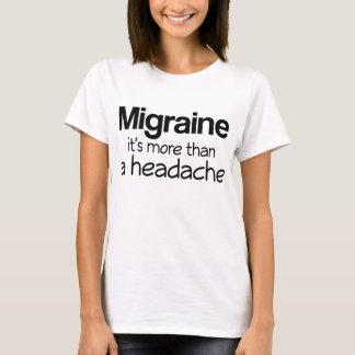 Migraine It's More Than A Headache T-Shirt
