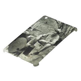 Migrant at campfire - 1939. iPad mini covers