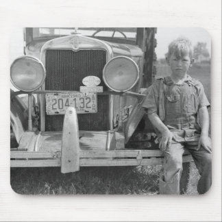 Migrant Fruit Picker's Truck, 1940 Mouse Pad