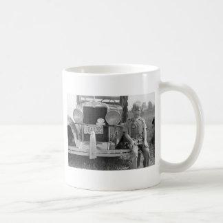 Migrant Fruit Picker's Truck, 1940 Classic White Coffee Mug