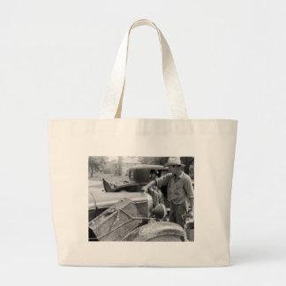 Migrant Fruit Worker Cars, 1940 Bag