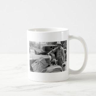 Migrant Fruit Worker Cars, 1940 Coffee Mug