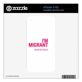 MIGRANT.png Skins For iPhone 4S