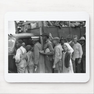 Migrant Vegetable Workers: 1939 Mouse Pad