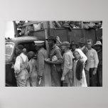 Migrant Vegetable Workers: 1939 Print