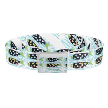 Beach Themed migrating fish Thunder_Cove any color Belt