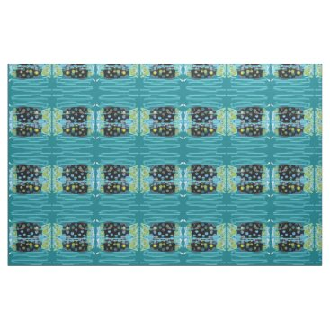 Beach Themed migrating fish Thunder_Cove any color Fabric