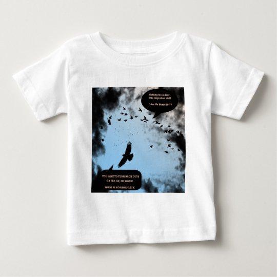 """Migration Birds In Turmoil""* Baby T-Shirt"