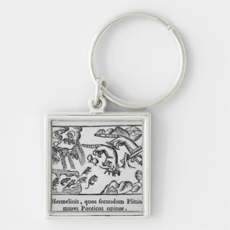 Migration of lemmings keychain