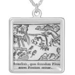 Migration of lemmings personalized necklace