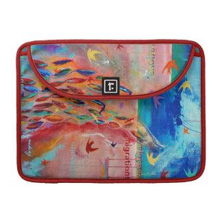 Migrations Painting Laptop Sleeve MacBook Pro Sleeve