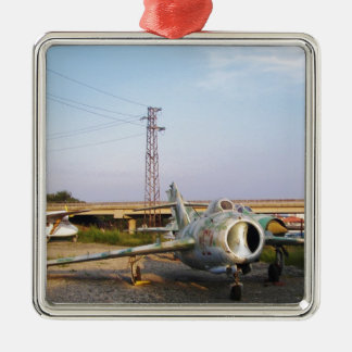 MIGs Down Metal Ornament
