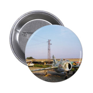 MIGs Down Pinback Button