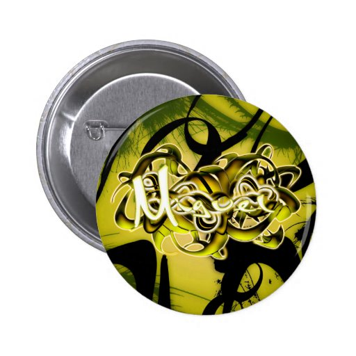 Miguel 2 Inch Round Button