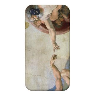 Miguel Ángel iPhone 4 Carcasas