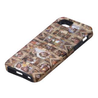 Miguel Ángel: Techo de la capilla de Sistine iPhone 5 Coberturas