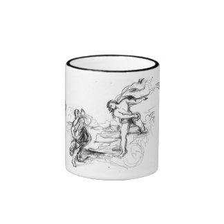 Miguel Ángel Titian y Raphael 11 onzas Tazas De Café