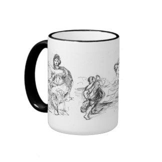 Miguel Ángel Titian y Raphael 15oz Tazas De Café