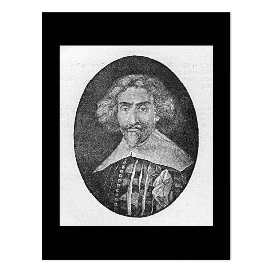 Miguel de Cervantes Postcard