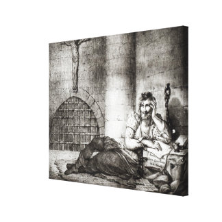 Miguel de Cervantes Saavedra Canvas Prints