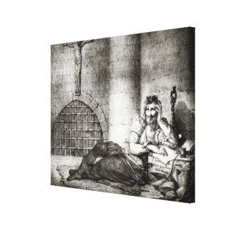 Miguel de Cervantes Saavedra Canvas Print
