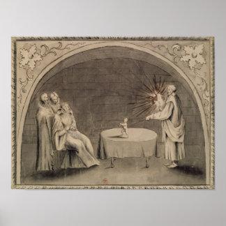 Miguel de Nostradame y Catherine Posters