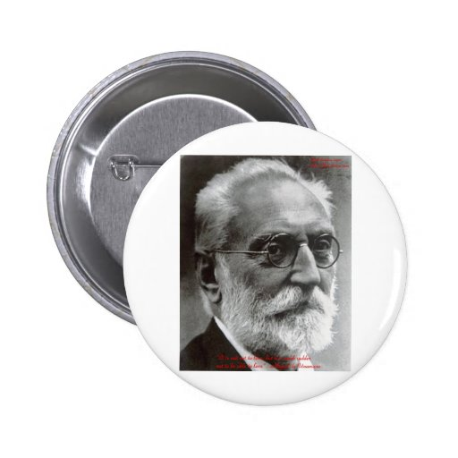 Miguel de Unamuno Able To Love Quote Gifts & Cards Pinback Buttons