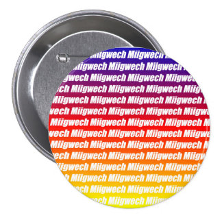 Miigwech Chapa Redonda 7 Cm