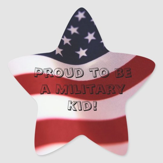 Miilitary Child Sticker