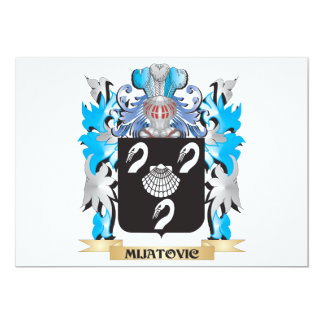 Mijatovic Coat of Arms - Family Crest Card