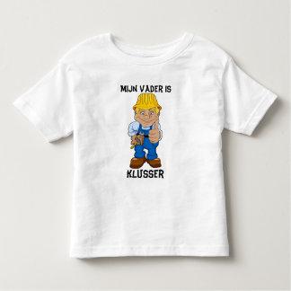 Mijn vader is klusser toddler t-shirt