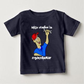 Mijn vader is monteur baby T-Shirt