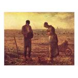 Mijo de Jean-Francois el ángelus Postales