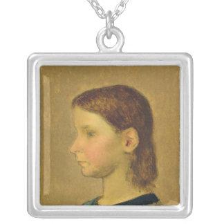 Mijo de Louise, c.1863 Colgante Cuadrado