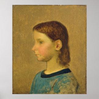 Mijo de Louise, c.1863 Póster