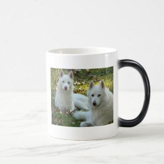 Mika and Mala  11 Oz Magic Heat Color-Changing Coffee Mug
