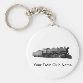 Mikado 2-8-2 Vintage Steam Engine Train Keychain