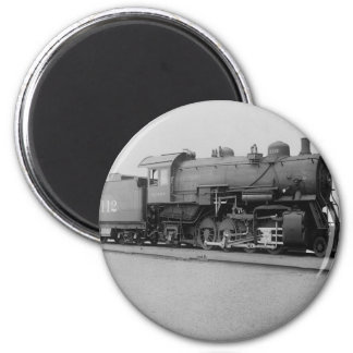 Mikado 2-8-2 Vintage Steam Engine Train Magnet