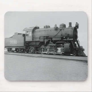 Mikado 2-8-2 Vintage Steam Engine Train Mouse Pad