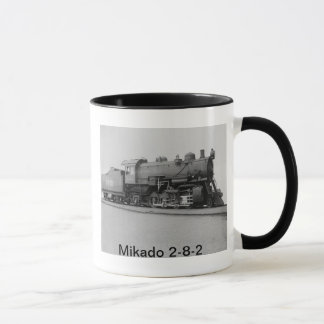 Mikado 2-8-2 Vintage Steam Engine Train Mug