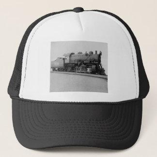 Mikado 2-8-2 Vintage Steam Engine Train Trucker Hat