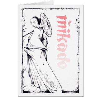 Mikado card