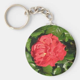 Mikado Hybrid Tea Rose 007 Keychain