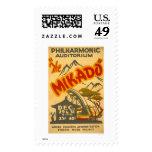 Mikado Philarmonic 1938 WPA Postage Stamps