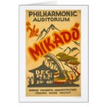 Mikado Philarmonic WPA 1938 Tarjetas
