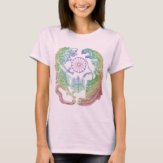 Mikado's Coat of Arms - Rainbow T-Shirt